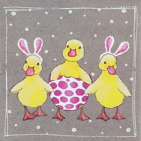 Șervețel - Funny Ducklings - 33x33 cm