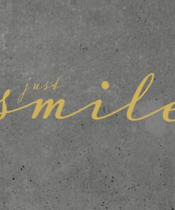 Șervețel - Just Smile Cement - 33x33 cm