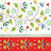 Șervețel - Kashubian Embroidery - 33x33 cm