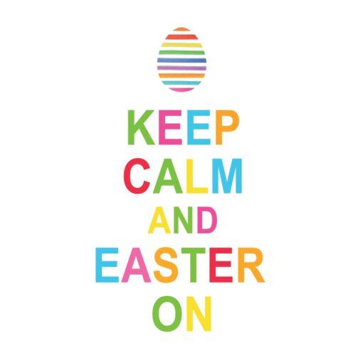 Șervețel - Keep Calm Easter On - 33x33 cm