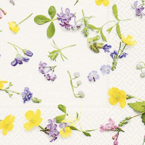 Șervețel - Scattered Flowers - 33x33 cm