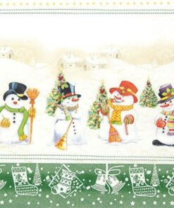 Șervețel - Snowman Meeting - 33x33 cm