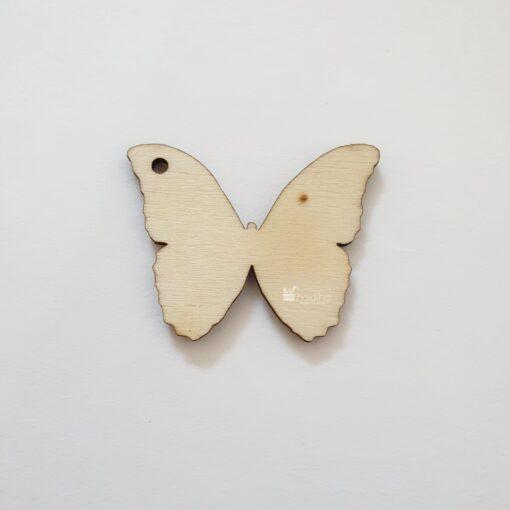 Bază mărțisor lemn – fluture – 5 cm 1