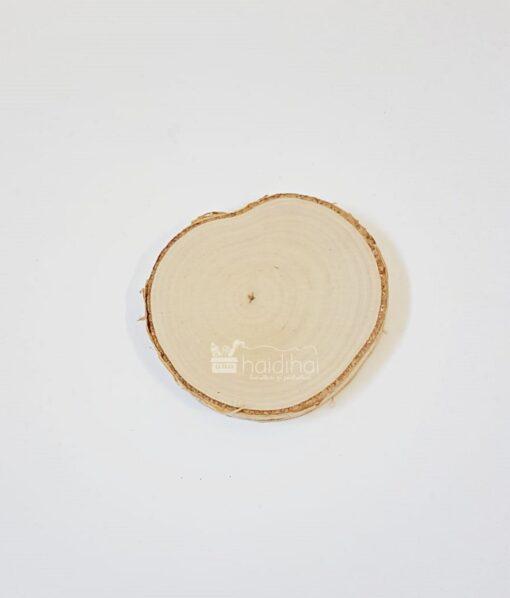 Felie lemn natur – scoarță copac – ⌀ 9-10 cm