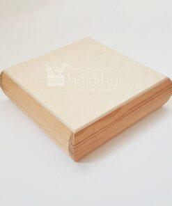 Cutie lemn bijuterii 20x20 cm