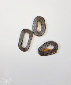 Plumb natur - argintiu - 4,5mm/1m