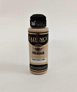 Vopsea acrilică – Rosy Bej – CADENCE – 120 ml