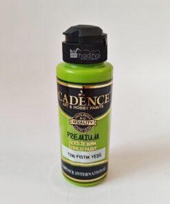 Vopsea acrilică - Peanut Green - CADENCE - 120 ml