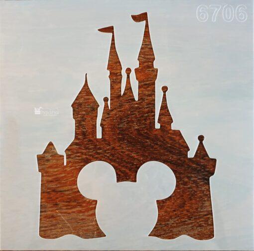 Șablon – Walt Disney Word – 20×20 cm 1