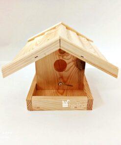 Căsuța din lemn pentri păsări - 25x23x16 cm