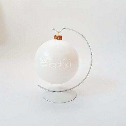 Suport metalic alb - 20 cm 1
