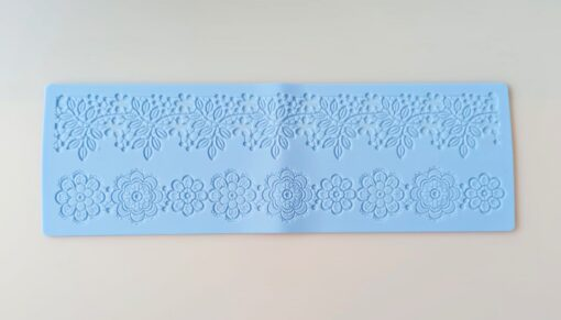 Matriță silicon - dantelă - 40x12,7x0,2 cm 1