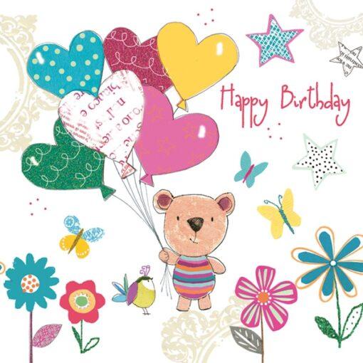 Servetel - Lovely Happy Birthday - 33x33cm 1