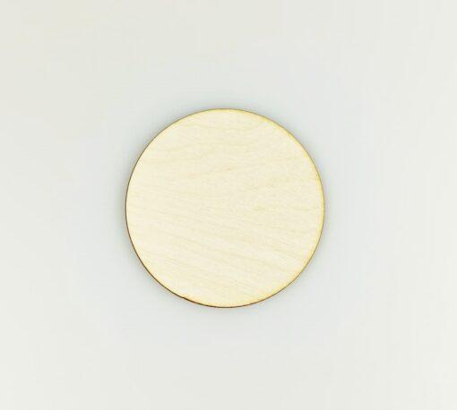 Decorațiune - blank rotund - 8 cm 1