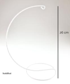 Suport metalic – alb – 26 cm