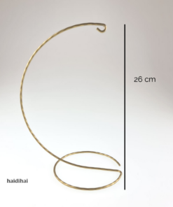Suport metalic – auriu – 26 cm