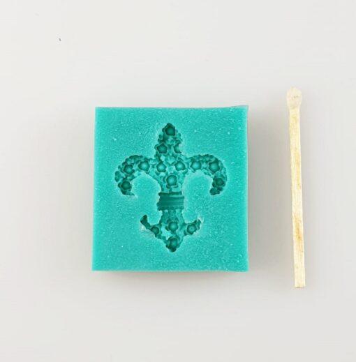 Matriță silicon - Decorative Element Lily - 3X3,2 cm 2