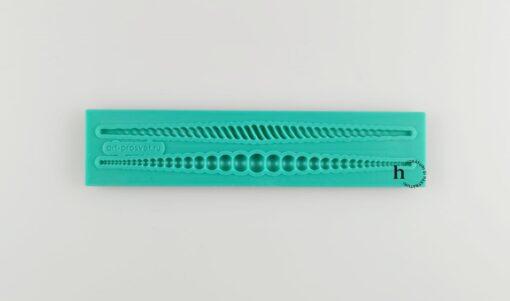 Matriță silicon - Bead 1 - 13,5x3 cm 1