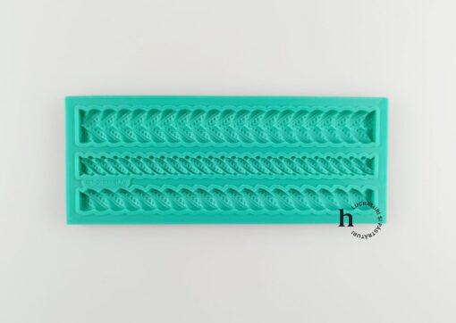 Matriță silicon - Pearl Weave - 14x5,5 cm 1