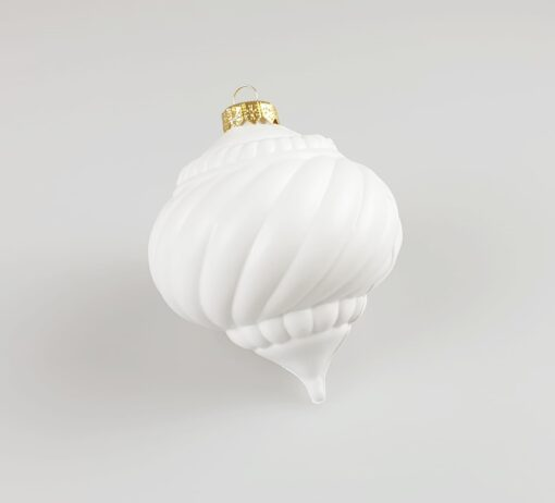 Glob spirala - decorațiune Crăciun - 10 cm 1