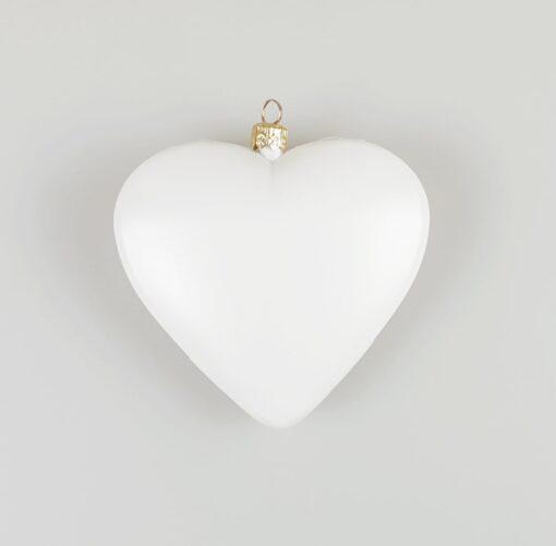 Inimioară - decorațiune crăciun - 9 cm 1