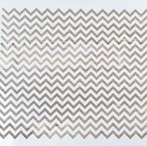 Șablon – Zigzag Pattern – 30x30 cm 3