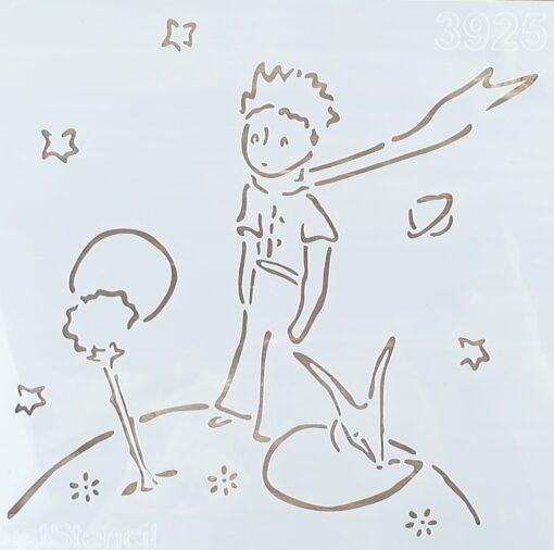 Șablon - Little Prince - 20x20 cm 3