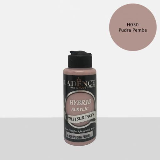Vopsea acrilică hybrid– Powder Pink – CADENCE – 120 ml 1