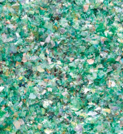 Galaxy flakes – Earth green – 15 gr. – Pentart 2