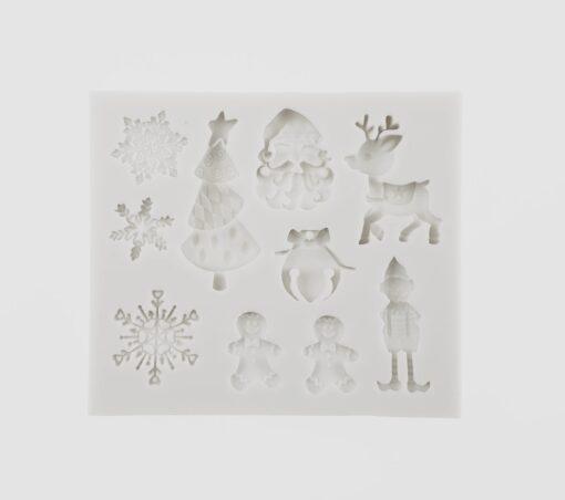 Matrita silicon - Christmas - 7.5x7 cm 1