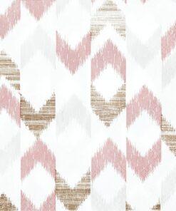 Șervețel - Bamboo Ikat rose - 33x33 cm