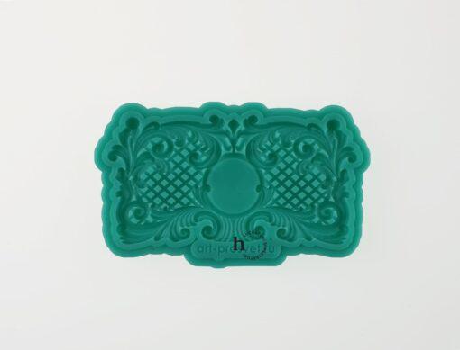 Matriță silicon - Frame - 7.5x4.5 cm 1