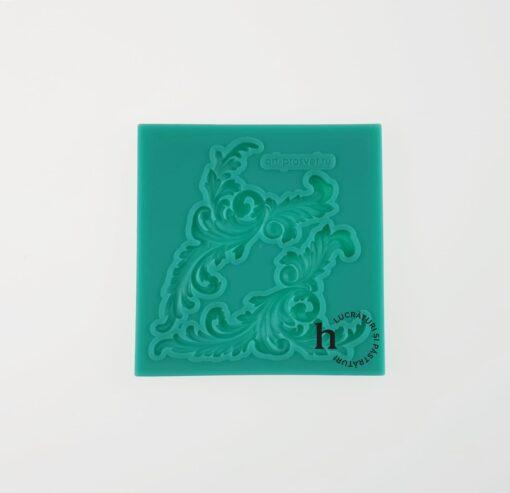 Matriță silicon - Monogram 9 - 8x8 cm 1