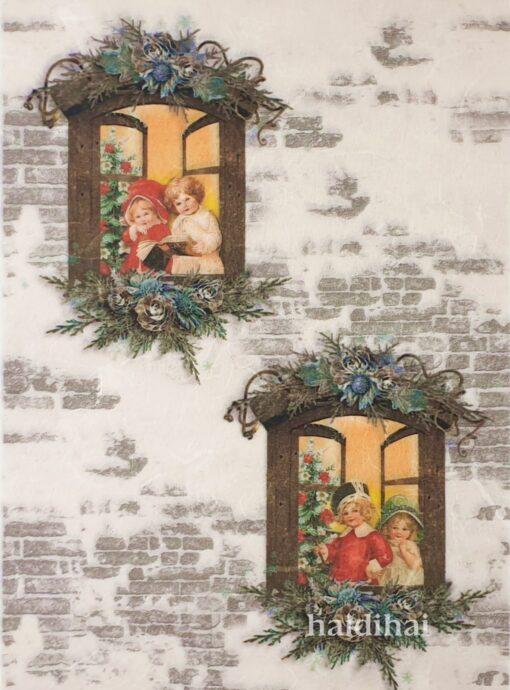 Hârtie de orez - Christmas Carol - A4 1