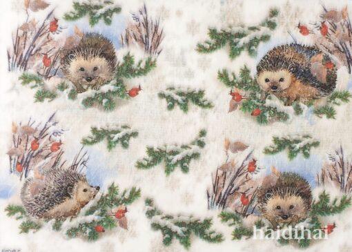 Hârtie de orez - Hedgehog - A4 1