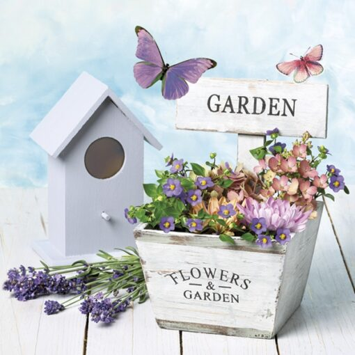 Șervețel decorativ – Garden and Flowers – 33×33 cm 1