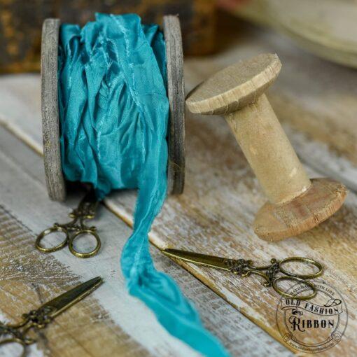 Panglică bobină - Turquoise Sea - 1.2 m 2
