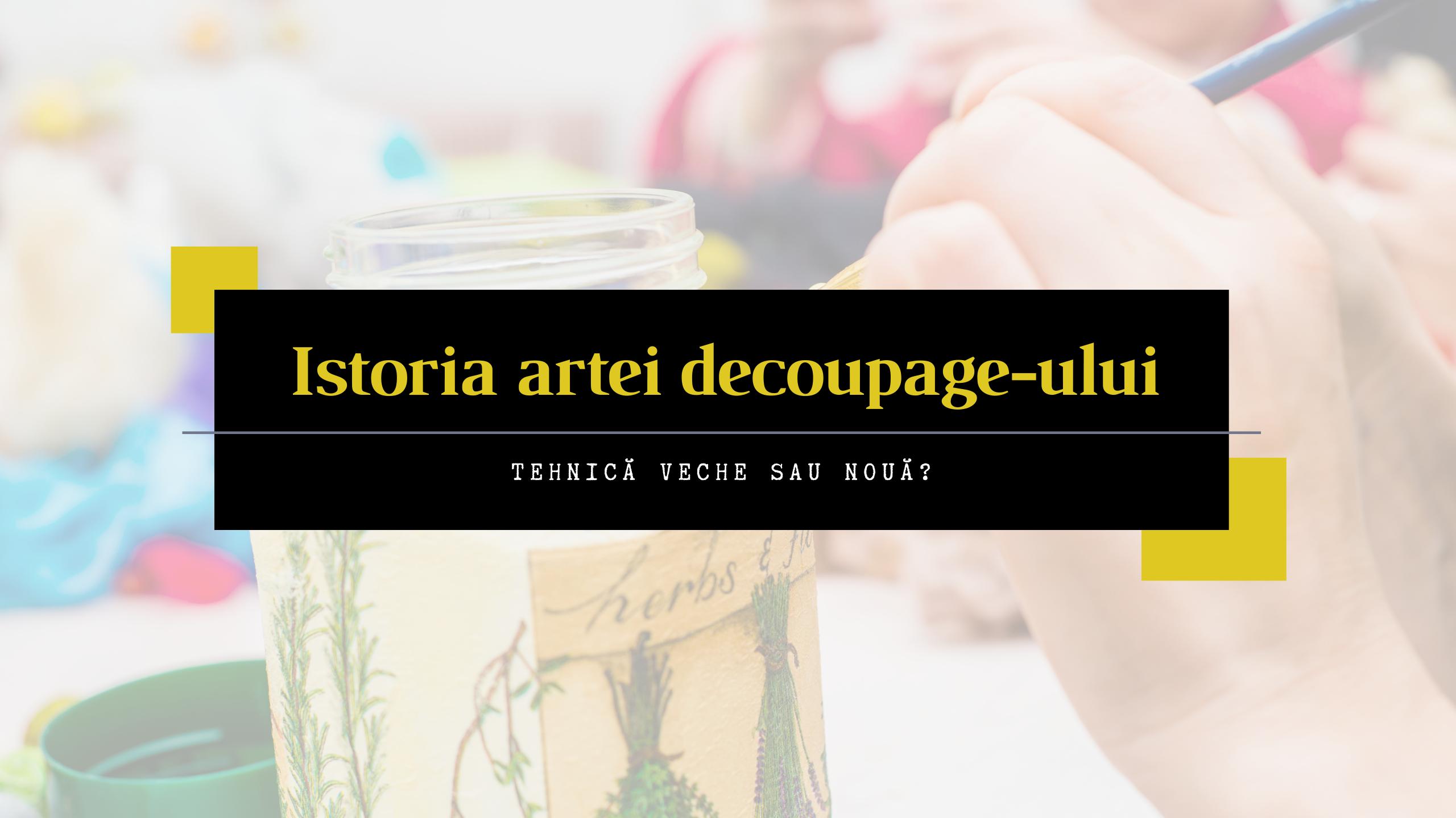 Istoria artei decoupage-ului. 43