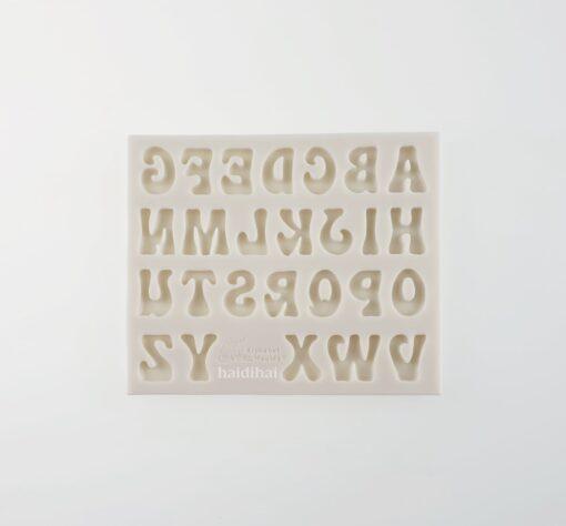 Formă silicon - ABC II - 12.5x10.5x0.5 cm 1