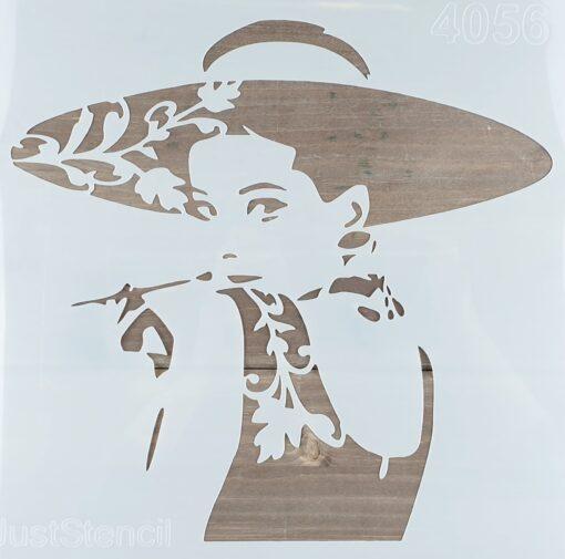 Șablon – Audrey – 30x30 cm 1