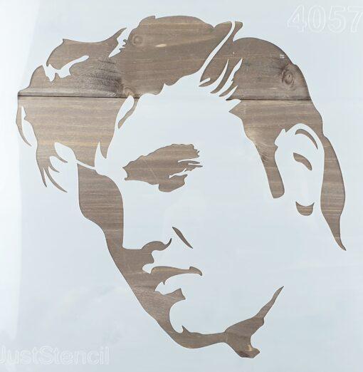 Șablon – Elvis – 30x30 cm 1