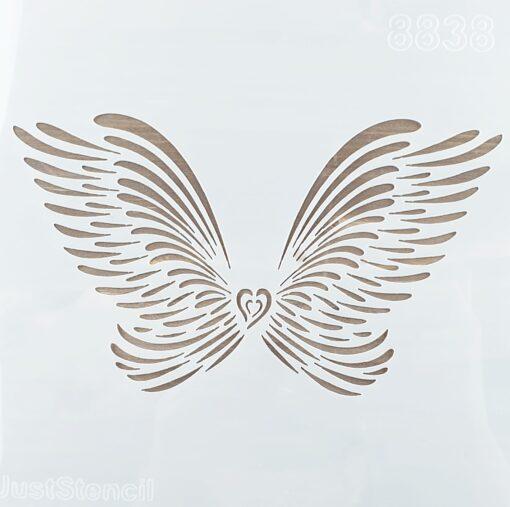 Șablon – Wings – 20x20 cm 1