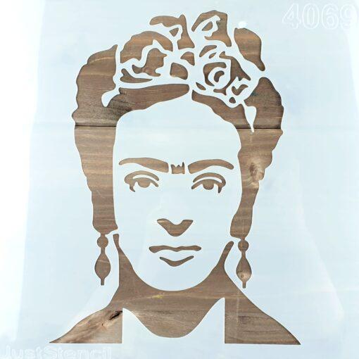 Șablon - Frida - 30x30 cm 1