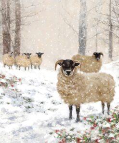 Șervețel - Highland Sheep - 33x33 cm
