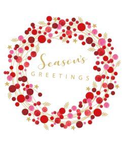 Șervețel - Seasons Greetings - 33x33 cm