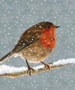 Șervețel - Snow is falling - 33x33 cm